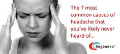7 Most Common Headache Causes and Cures Headache Causes, Increase Serotonin, Peripheral Nervous System, Endocannabinoid System, Most Common, Helping Others, The Cure, Health