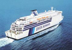 DFDS Seaways PRINCESS OF NORWAY Newcastle Ijmuiden Amsterdam company card ex TT