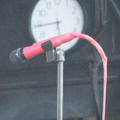 OMGG!!! This is her microphone lol!