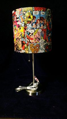 Hey, I found this really awesome Etsy listing at http://www.etsy.com/listing/178291380/x-men-custom-comic-book-lamp