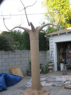 DAVE LOWE КОНСТРУКЦИЯ блога: Создание дерева Опору: Часть пятая