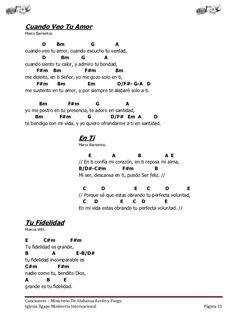 Christian Music Lyrics, Christian Songs, Music Chords, Ukulele Chords, Jesus Adrian Romero, Don Moen, Ricardo Rodriguez, Piano Songs, Easy Piano