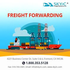 Sky2c provides the best international shipping service in USA. Our services include customs clearance, freight forwarding, warehousing, and local deliveries.