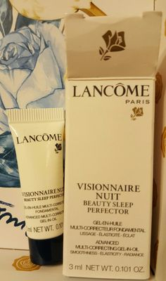 New Lancome Beauty Sleep Perfector Pending