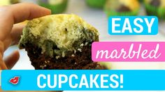 Easy Marbled Cupcakes! | Stephanie from Millennial Moms