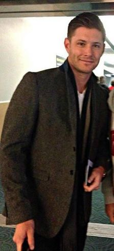 A smile at the airport.....Jensen