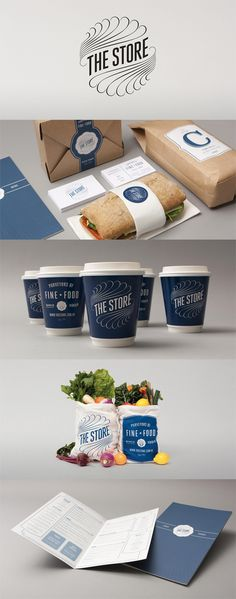 The Store, how cool is this branding?  me creative loves to brand. And that sandwich looks amazing!!