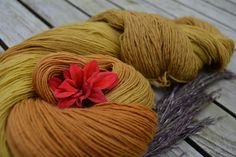 dyed with reed and dahlias