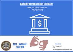 Best Interpreters Denver, Banking Interpretation Services ----------------------------------------------------------------------- Visit: http://www.bestlanguagessolution.com/ Best Language Solutions can assist you with Your Banking Services By Providing Interpreters Personally.
