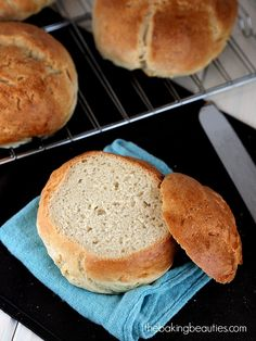 Gluten Free Bread Bowls from The Baking Beauties