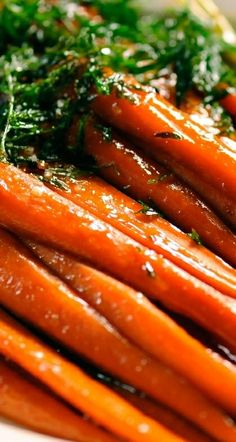 Brown Sugared Carrots