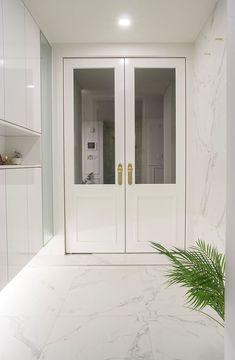 White Houses, Wood Doors, Entrance, Interior, Walls, Furniture, Medium, Colors, Design
