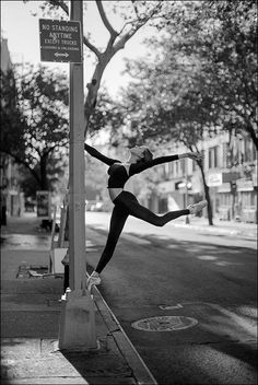 Katie - St Marks Place, New York City . Ballet Nyc, Ballet Dance, Dance Photo Shoot, Dance Photos, Dance It Out, Just Dance, Dance Stuff, St Marks Place, Ballerina Project