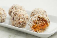 Yam Balls With Coconut & Pecans Recipe