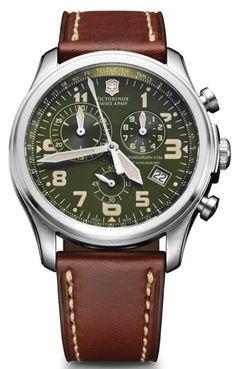 @vxswissarmy  Watch Infantry Vintage Quartz Chronograph #bezel-fixed…