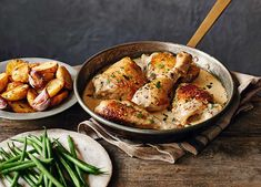 A simple supper with chicken-thigh fillets that's gluten-free and easy to throw together
