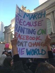 A must-see collection of clever and biting protest signs from the Women's March on Washington and sister marches around the world. Informations About Funniest Women's March Signs From Around the World Power To The People, We The People, Teachers Strike, March For Science, Science March Signs, Protest Posters, Protest Art, March For Our Lives, Worlds Of Fun