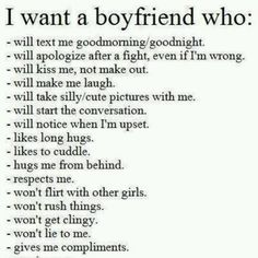 what females want in a relationship