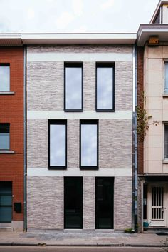 House GL - OH architecten Leuven #fachadasarquitectura
