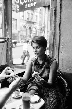 Sophia Loren, New York, anni '60