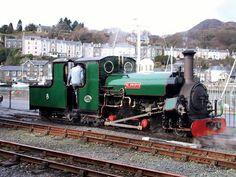 'Blanche' at Harbour Station, Porthmadog Steam Railway, Public, Train Pictures, Rolling Stock, Steam Engine, Steam Locomotive, Gauges, Cymru, Passport