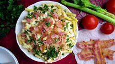 Feta, Potato Salad, Potatoes, Treats, Chicken, Ethnic Recipes, Noodle Salads, Sweet Like Candy, Goodies