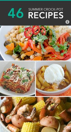 Don't put away the slow cooker just because it's warm out! #crockpot #recipes #summer #greatist