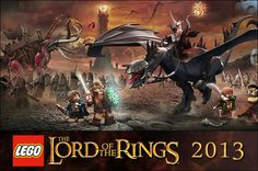 LEGO Lord Of The Rings 2013 !