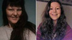 Image caption                                      Elizabeth Edwards, 49, and her daughter Katie, 13, were found dead at Dawson Avenue in Spalding in April                                A 15-year-old girl has been found guilty of murdering a mother and daughter. The teenager, who cannot be named, was 14 when she and her boyfriend plotted to kill Elizabeth Edwards, 49, and her daughter, Katie, 13, as they slept