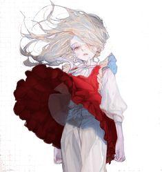 """샬구さんのツイート: """"… """" Art Anime Fille, Anime Art Girl, Pretty Art, Cute Art, Art Sketches, Art Drawings, Bel Art, Art Mignon, Art Manga"""