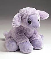 Lovey, the Lavender lamb.  Smells so fragrant and helps baby sleep.