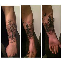 Nature half sleeve