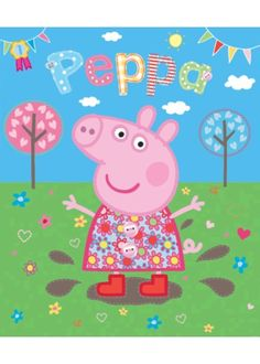 peppa pig pepa bedroom murals childrens rooms mural producttags