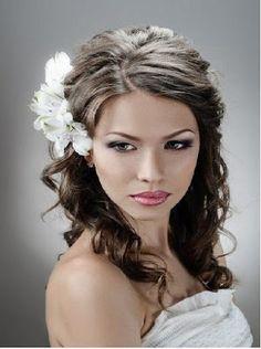 Coiffure simple et rapide mariage tendance 2013
