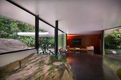 Oscar Niemeyer - House at Canoas