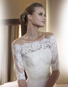 Stunning Lace Top For Wedding Dress Gallery - Styles & Ideas 2018 ...