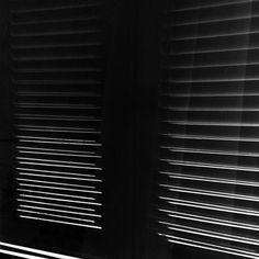 Contrast (window shutters) #blackandwhite #blackandwhitephotography #minimalism #light #contrast #lines