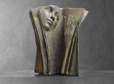 Lecture multiple sculpture bronze de Paola Grizi Melting Art Gallery - Lille (France)