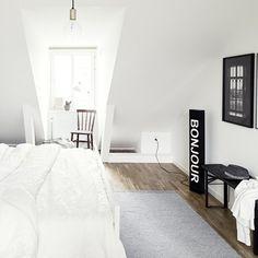 Slaapkamers onder dak