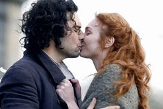 "londonista59: "" alicebhatt: "" shiparker: "" mymusingsfromtheheart: "" panoramamelodrama: """"Poldark S3 Episode 4 "" "" Such love, passion and playfulness. Love it! Beautiful gifset! "" He wants to kiss her..."