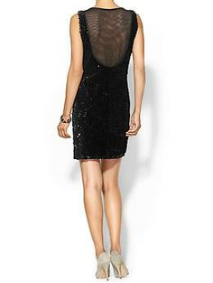 MM Couture Mesh back Sequin Mini | Piperlime
