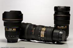 Nikon's Holy Trinity - f/2.8 Zoom Lens! by dedge555, via Flickr