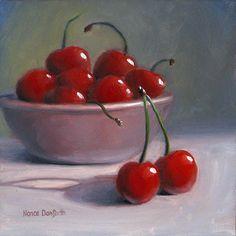 Nance Danforth | OIL | Sweet Cherries
