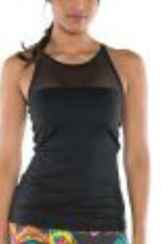 The  Coolest tank has a built in bra for guaranteed support. This tank has high neck-line mesh piecing for a sleek and stylish look. Wear it during your workouts or for any activity.    Product Highlights:        High-quality  fabric keeps you cool and dry      Mesh Panels      High neck line      Soft brushed fabric for a superior feel      Built in bra          Fabric: Polyester Mesh: Nylon/Spandex      Sheer Mesh Top by TLF Apparel. Clothing - Tops - Sleeveless South Carolina