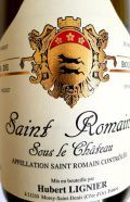 """Saint Romain """" Sous le Château"""" AOC - Hubert & Laurent Lignier - Weissweine / Frankreich weiss / Côte de Beaune,Côte de Nuits - Fusters Wy-Bude Bude, Cote De Beaune, Saint Romain, Laurent, White Wine, Red Wine, Champagne, Flasks, White Wines"""