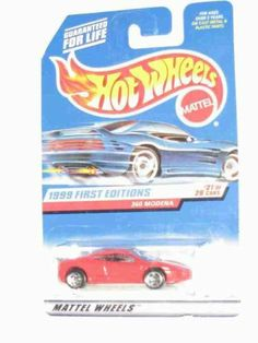 1999 First Editions -#21 Ferrari 360 Modena Hot Wheels Logo #1113 Collectible Collector Car Mattel Hot Wheels by Mattel. $3.95. Perfect Hot Wheels Diecast for every collector!. Great Investment For Any Hot Wheels Collector.. Diecast Metal Hot Wheels Car Perfect For That Hot Wheels Collector!. A Perfect Addition To Any Hot Wheels Collection!. Fun For All Ages! Serious Collectors And Kids Alike!. 1999 First Editions -#21 Ferrari 360 Modena Hot Wheels Logo #1113 Collectible Co...
