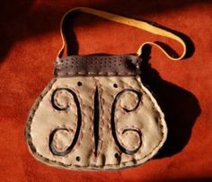 Gokstad chieftain's pouch.