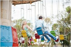 Terence   Jessica   Theme Park Engagement   South African Weddings, Porch Swing, Engagement, Park, City, Outdoor Decor, Gold, Home Decor, Decoration Home