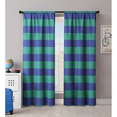 You'll love the Rugby Curtain Panel at Wayfair - Great Deals on all Décor products with Free Shipping on most stuff, even the big stuff.