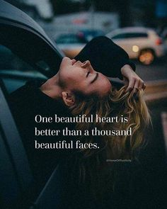 Positive Quotes : QUOTATION – Image : Quotes Of the day – Description One beautiful heart is better than a thousand beautiful faces. Sharing is Power – Don't forget to share this quote ! Wisdom Quotes, True Quotes, Words Quotes, Best Quotes, Motivational Quotes, Inspirational Quotes, Qoutes, Sayings, Brainy Quotes